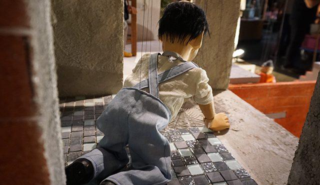 Fleißenleger, Augsburger Puppenkiste Ausstellung zum Handwerk