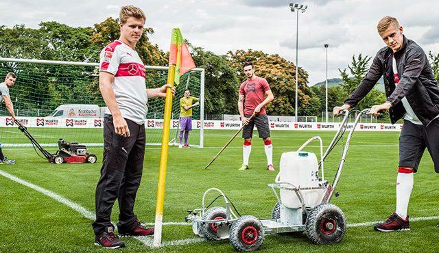 Fussball trifft auf Handwerk: Würth MODYF & VfB