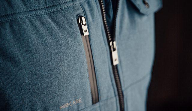 Weste Nature Kollektion mit Napoleontasche, Reißverschluss und e-Care Handytasche