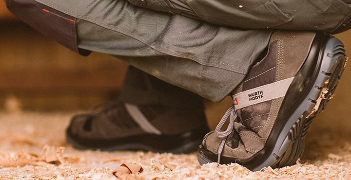 Stretchfit S3 Sicherheitsschuhe mit elastischen Einsätzen, rtschhemmender Sohle, in Grau