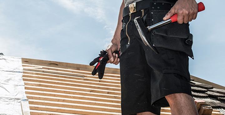Arbeitsschorts für Handwerker und Arbeitskleidung im Sommer
