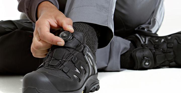Sicherheitsschuhe mit Boa® Verschluss System: Was ist das?