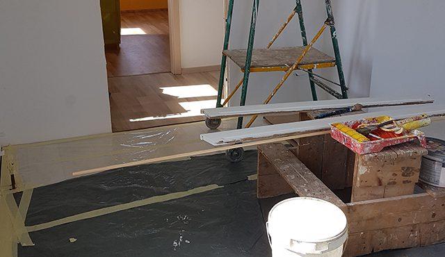 Heimwerker tipps von MArie: Wände streichen TEchniken